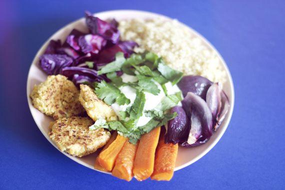 assiette végétarienne